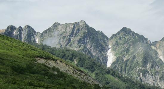 白馬村, 長野県, 不帰のキレット