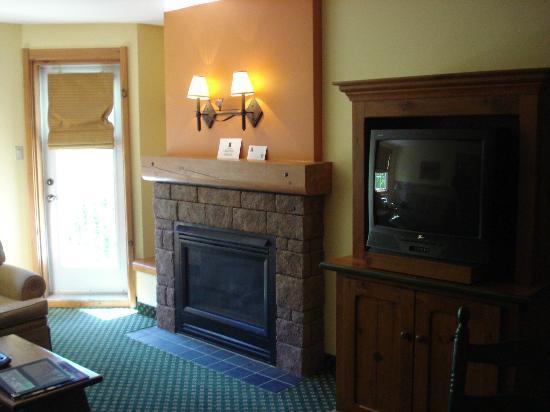 Lodge de la Montagne: Livingroom