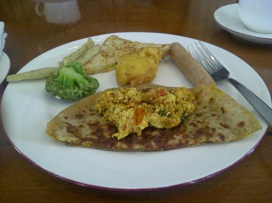 The Uppal Hotel - an Ecotel Hotel: Breakfast.
