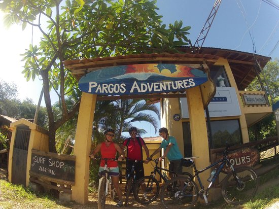 Playa Negra, คอสตาริกา: at Pargos Adventures ready for the higth ligth of the trip!!!