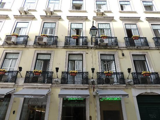 exterior of Residencial Florescente