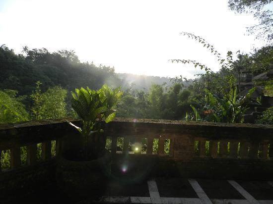 ปาโยกัน วิลล่า รีสอร์ท แอนด์ สปา: morning view on the balcony
