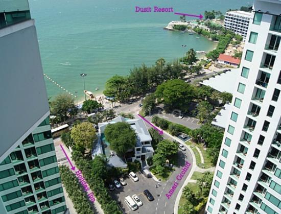 Holiday Inn Pattaya: great location, great view