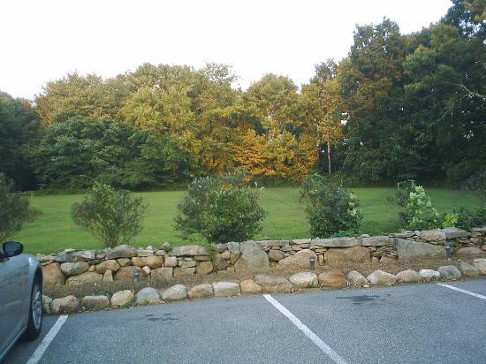 Stonecroft Country Inn: Out in front of The Grange