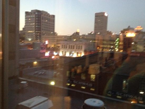 The Westin Memphis Beale Street: view from the room