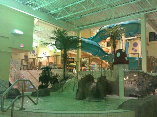 Best Western Plus Port O'Call Hotel: indoor water park. It should be very attractive in winters