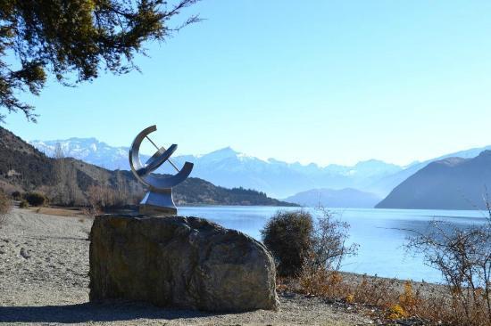 Lake Outlet Holiday Park: artworks
