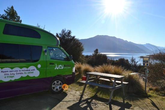Lake Outlet Holiday Park: look at the views!