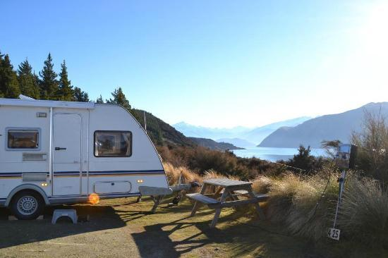 Lake Outlet Holiday Park: views!