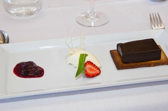Infusion: Chocolate fondant dessert