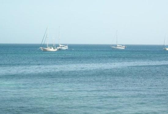Hotel Utila: Ocean view