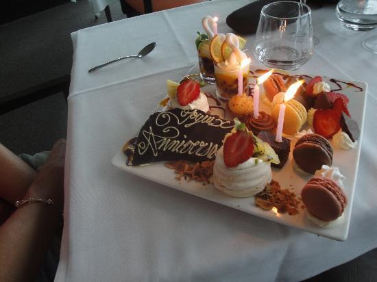 L'Entrecote Au 360 : petit dessert personnalisé