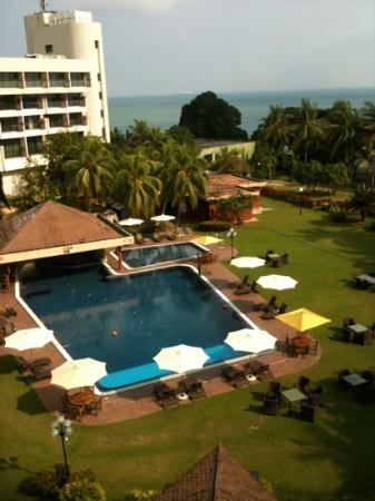 Batam View Beach Resort: view from our room