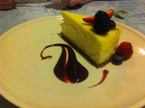 Longview Steakhouse: Cheese Cake