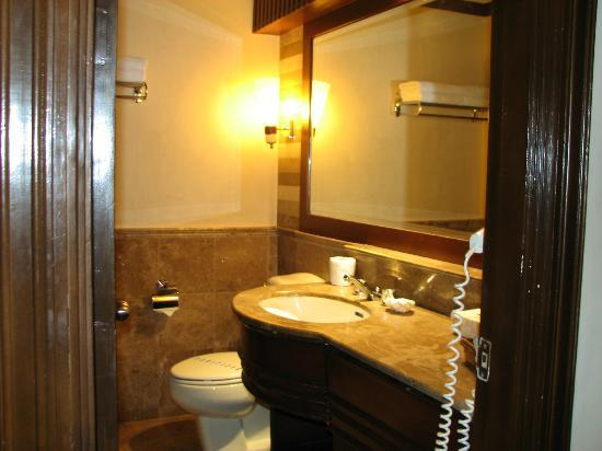 Boracay Regency Beach Resort & Spa: Sink/ Toilet