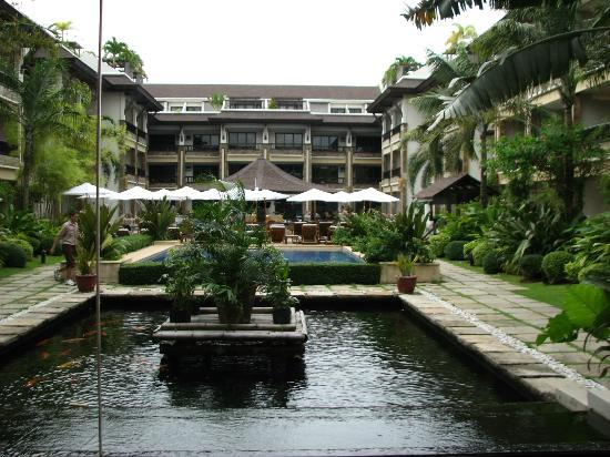 Henann Regency Resort & Spa: View from Grand Lobby