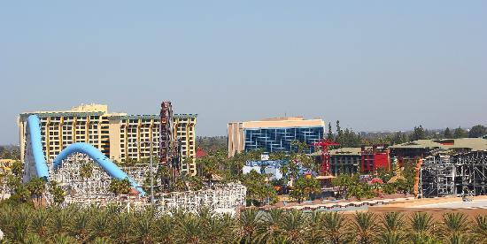 Sheraton Park Hotel at the Anaheim Resort: View of DCA during the Day from Park Facing Rooms