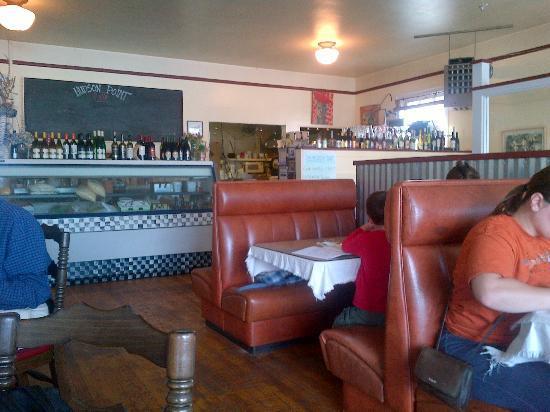 Hudson Point Cafe: interno