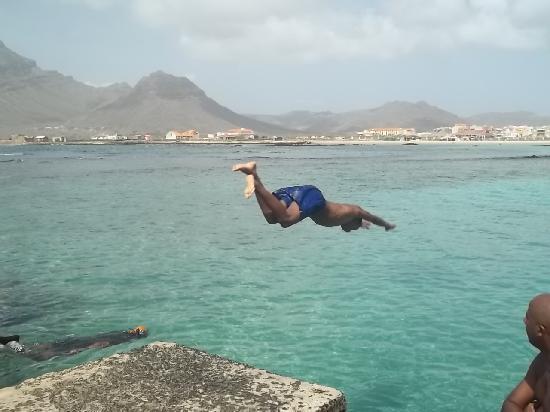 São Vicente, Cabo Verde: Tuffi nella Baia 3