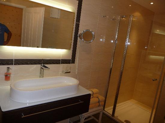 Panoramahotel Oberuckersee: Badezimmer