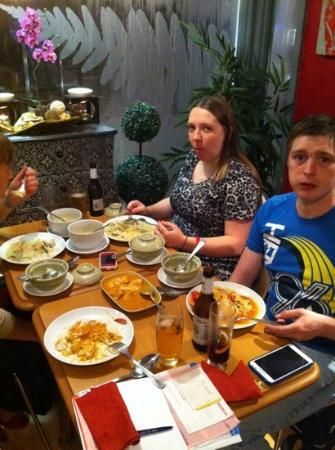 Thai Brasserie: great food, authentic,fresh and healthy