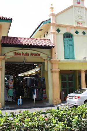 Entrance to Little India Arcade