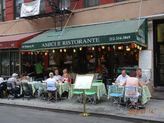 Good Italian Food On Mulberry Foto Di Amici II New York City TripAdvisor