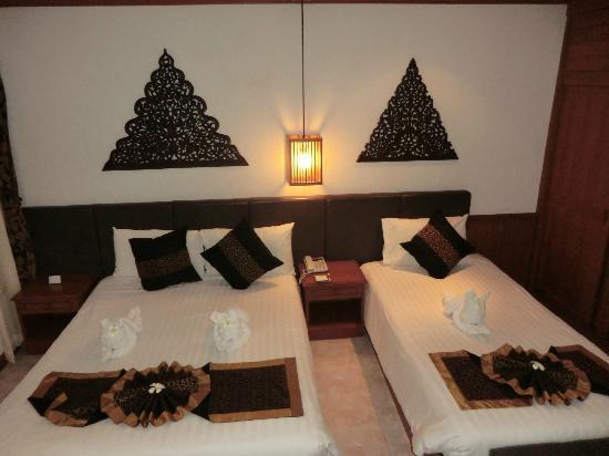 Banana Fan Sea Resort: Die Zimmer. Sehr schön und sehr sauber.