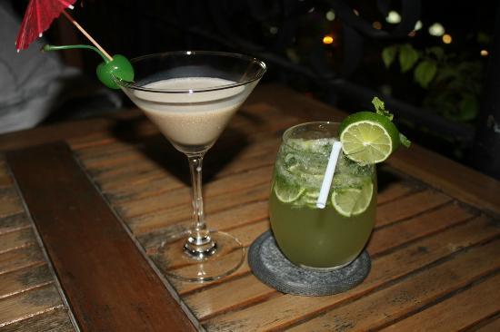 Nam Bo Boutique Hotel: Cocktail en la azotea del hotel