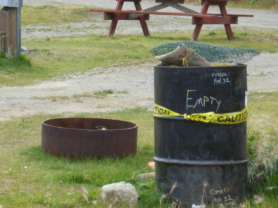 McKinley RV Park and Campground: Garbage cans
