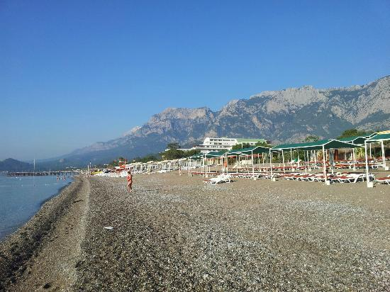 Club Boran Mare Beach: пляж