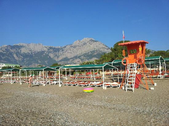 Club Boran Mare Beach : пляж