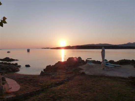 B&B Cala Peticchia: Sunrise