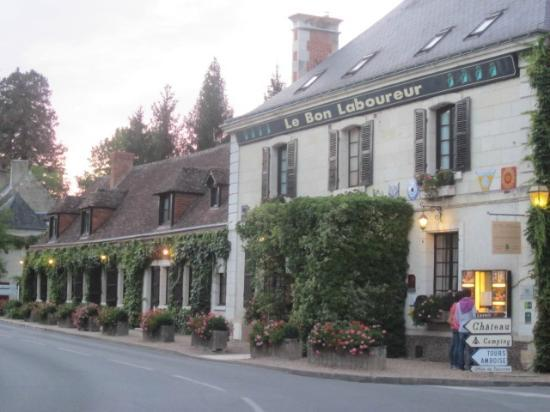 Auberge du Bon Laboureur: lovely architecture