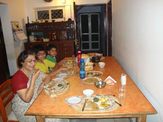 Arcadiia Homestay : The dining room