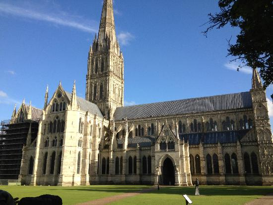 Cricket Field House: Salisbury Cathedral
