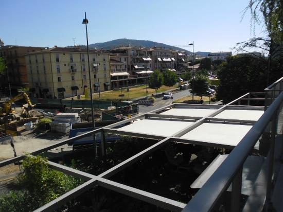 La Fenice: balcone stanza da letto