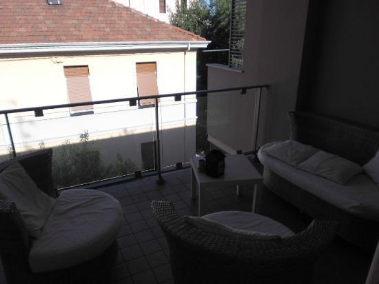 La Fenice: balcone cucina