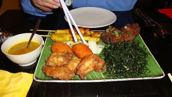 Yan Woo Restaurant: Various appetisers