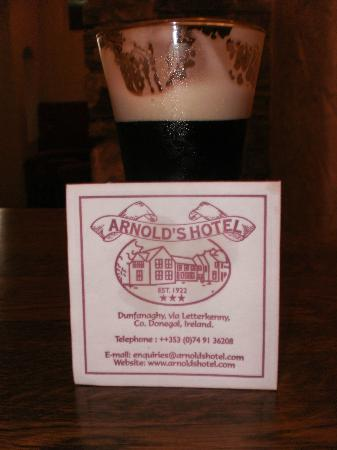 Arnolds Hotel: Bar Food...!!