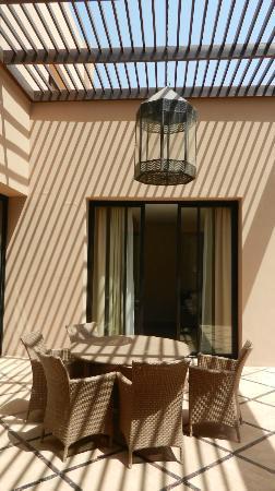 Al Maaden VillaHotel & Spa: terrasse centrale