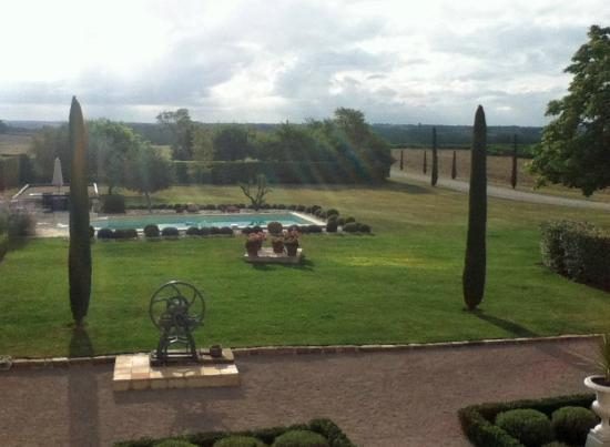 Clos de Lacalm: view from our room