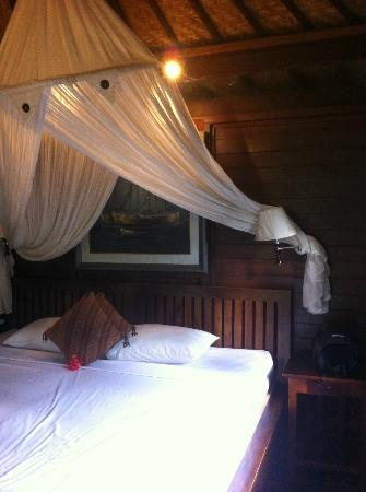 Bali Spirit Hotel and Spa : Queen bed, Aga Suite