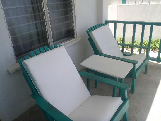 Seven Seas Resort: Rm 2 Patio