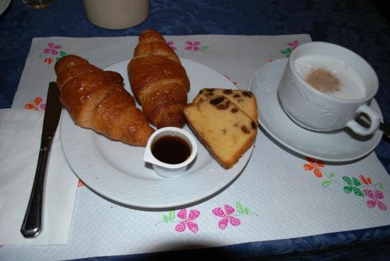 هوتل سافويا: Завтрак (Breakfast) 