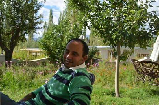 Royal Heritage Resort: green lawn at rhr