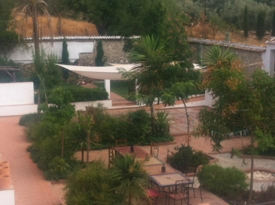 Villa Cortijo Andalus : The courtyard