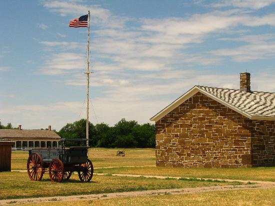 Fort Larned National Historic Site: Paradeplatz