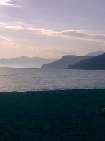 Varigotti, Italy: al calar del sol