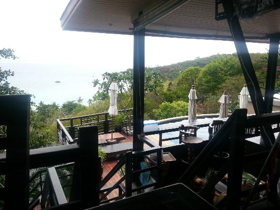 Chintakiri Resort: breakfast time with good view